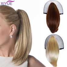Hair-Accessories Ponytails Blonde Short Claw-Hair Black Straight Little 7-Colors