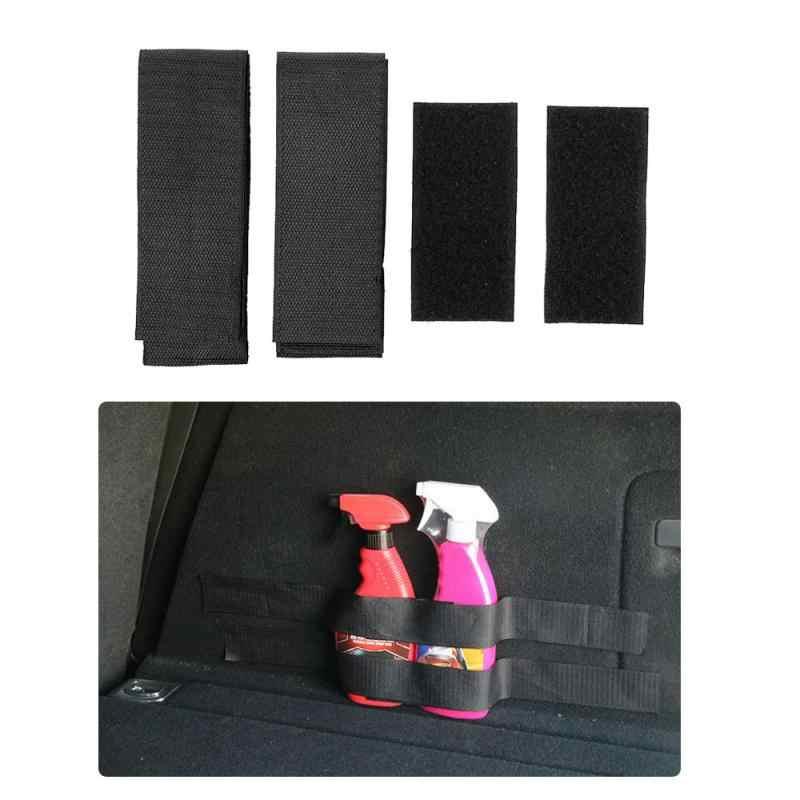 Bagasi Mobil Pemadam Api Memperbaiki Pemegang Sabuk Tas Penyimpanan Pita Ajaib Memperbaiki Perban Bracket Stiker Tali Pengikat Mobil Styling