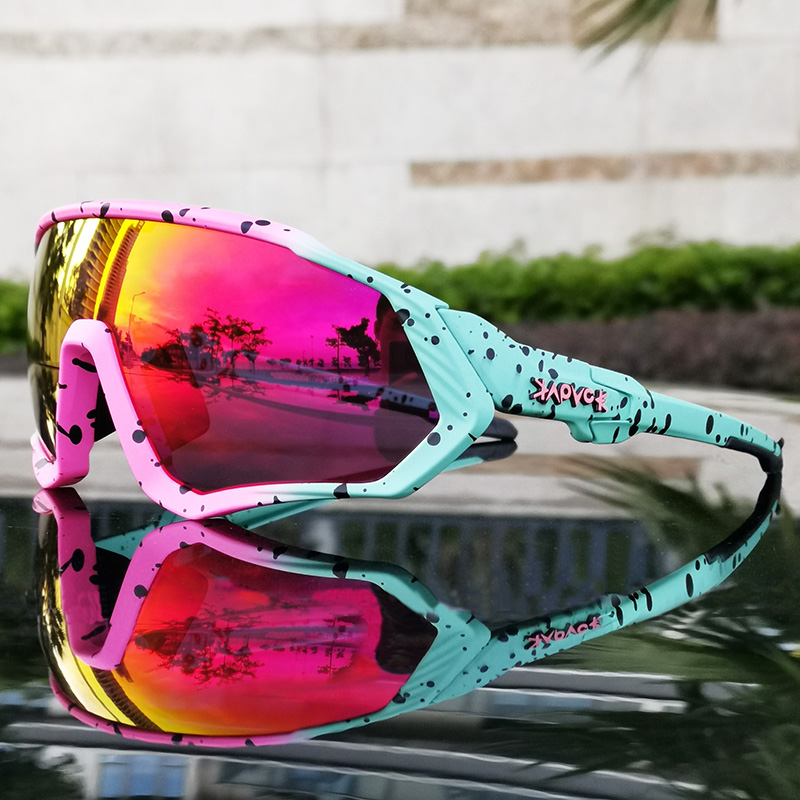 Image 2 - Outdoor Sport Cycling Sunglasses for Men Women TR90 Frame Bike Mountain Bike MTB Bicycle Cycling Glasses  Oculos CiclismoCycling Eyewear   -