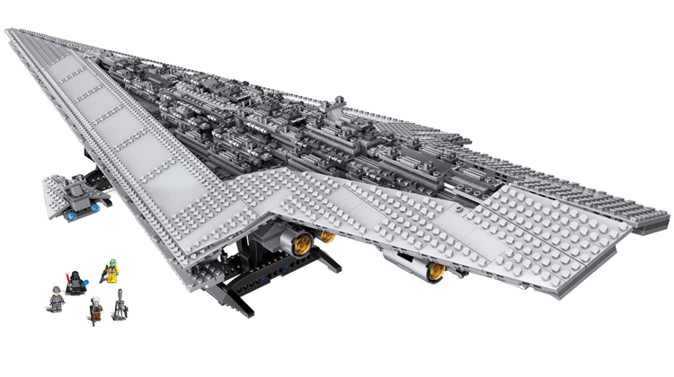 Super Star Destroyer Moc 15881 Blocks Wars Executor class Star Dreadnought Ship Technic Star Wars 10221 10030 Toys Gift Bricks compatible lego 30