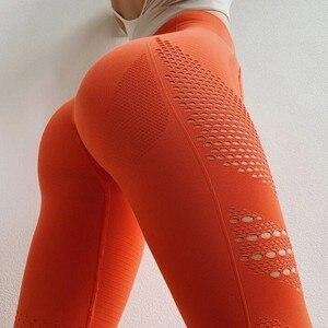 Image 4 - נשים חלקה כושר חותלות קיץ תרגיל אימון חותלות אימון הפופולרי Leggins נשים ריצה חותלות מכנסי טרנינג