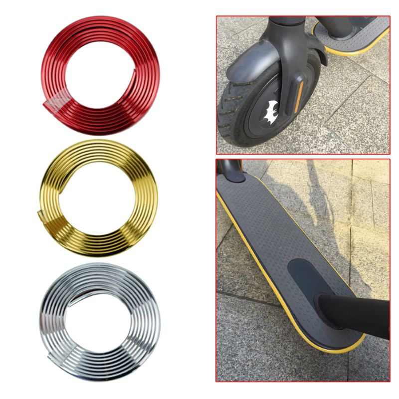 Protective Body Strips Sticker Bumper Scooter Tape For Xiaomi Mijia M365