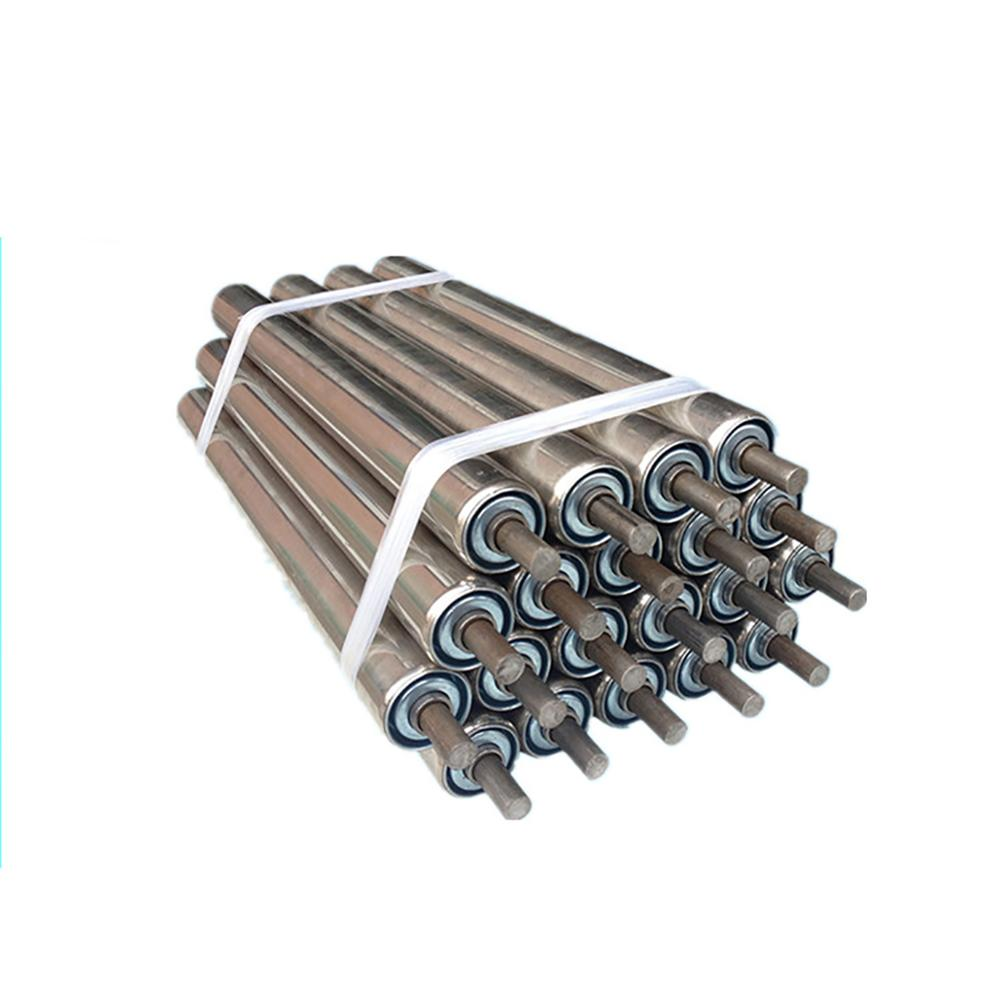 1PCS Stainless Steel Gravity Roller Conveyor 25*200/300/400/500/600/700/800/1000