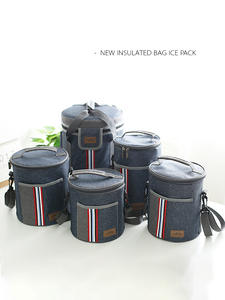 Lunch-Bag Leisure-Accessories Insulated-Cooler Food Women Storage Oxford Portable Product-Cases