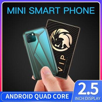 Mini Smartphone SOYES XS11 Android 6.0 Cellphone 3D Glass Slim Body Dual Sim 1GB 8GB Quad Core 1000mAh Google Play Market Cute