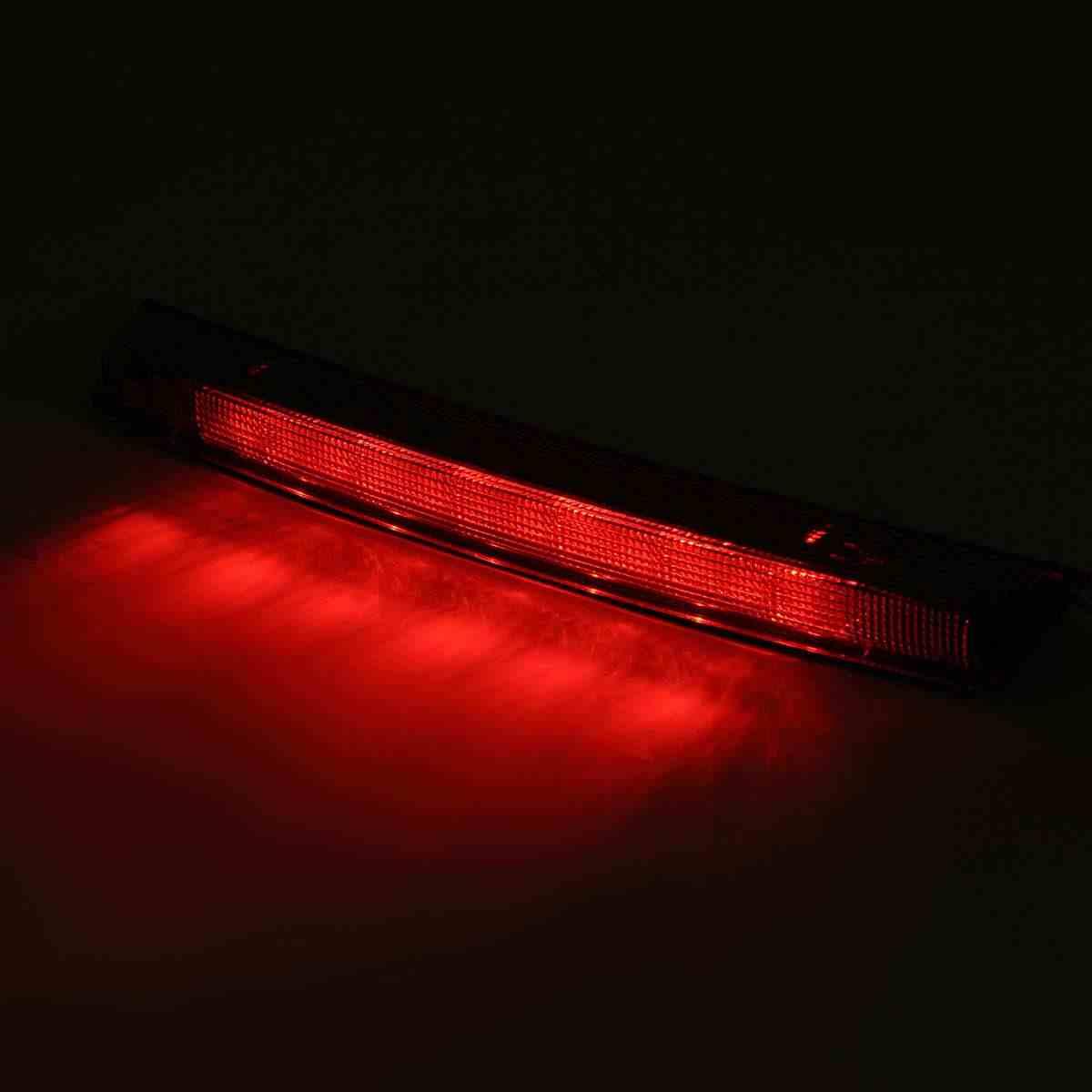 For Peugeot 208 308 3008 Citroen C4 C5 DS4 Tercer High Mount parada del freno trasero de la cola de luz de l/ámpara de luz de freno Luz trasera 6351HH 6350V2 Color : Red