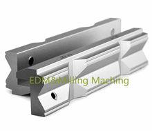 Máquina fresadora CNC de alta calidad, tornillo de aluminio, accesorio de mandíbula dura Tipo V, aleación de aluminio, 4