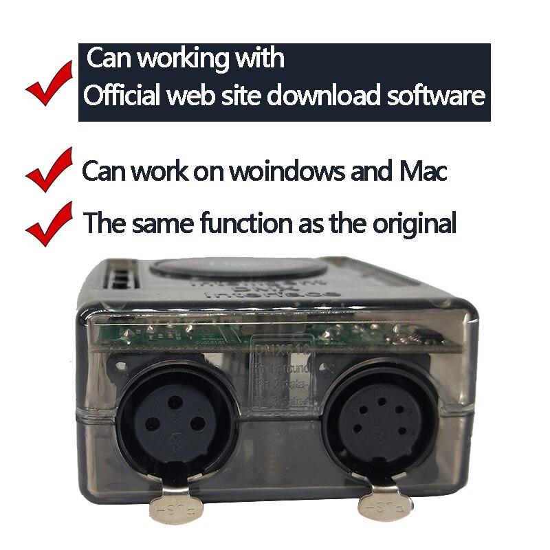 Console d'éclairage mobile de contrôleur de lumière d'étape de logiciel de Daslight DVC4 DMX pour l'interface d'éclairage d'usb de lumière d'étape de Disco DJ - 2