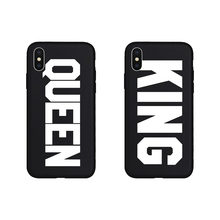 Brand NEW KING QUEEN COOL Soft Case for iPhone 11 11Pro 11ProMax X Xs XR XsMax 8Plus 8 7Plus 7 6 6s Plus 5 5s SE Phone Cover(China)