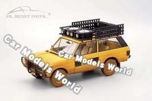 """Diecast Auto Model Voor Bijna Real """"Camel Trophy"""" Sumatra 1981 Vuile Versie 1:18 + Kleine Gift!!!!"""