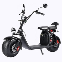 Russian Warehouse 60V 21Ah Electric Motorcycle 2000w Big Wheel Electric Scooter Removable Lithium Battery Citycoco 2