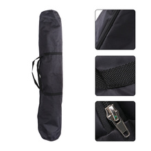 1Pc Outdoor Tent Storage Bag Oxford Cloth Storage Pouch Camping Supply Black