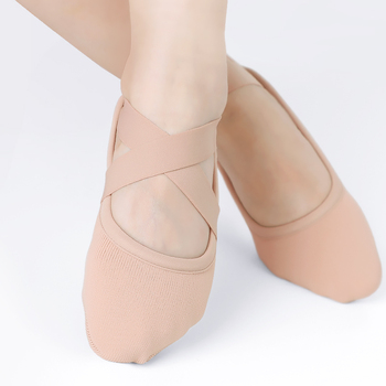 Women Stretch Ballet Shoes Slippers Professional Elastic Adult Yoga Gym Gymnastics Danceing - discount item  40% OFF Stage & Dance Wear