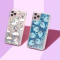Unicorn Cartoon Animals Sparkle Liquid Real Glitter Phone Case Fundas Cover for iPhone 11 X XS XR Max Pro 7 8 7Plus 8Plus 6