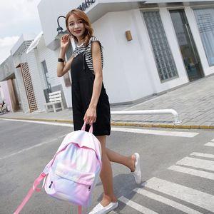 Image 5 - Женский школьный рюкзак Vento Marea, розовый дорожный рюкзак для девочек подростков, сумка для ноутбука, 2019