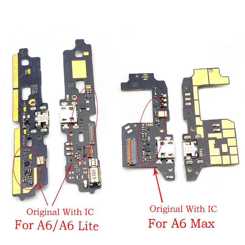 New USB Power Charging Connector Plug Port Dock Flex Cable For ZTE Blade A6 A6 Lite / A6 Max
