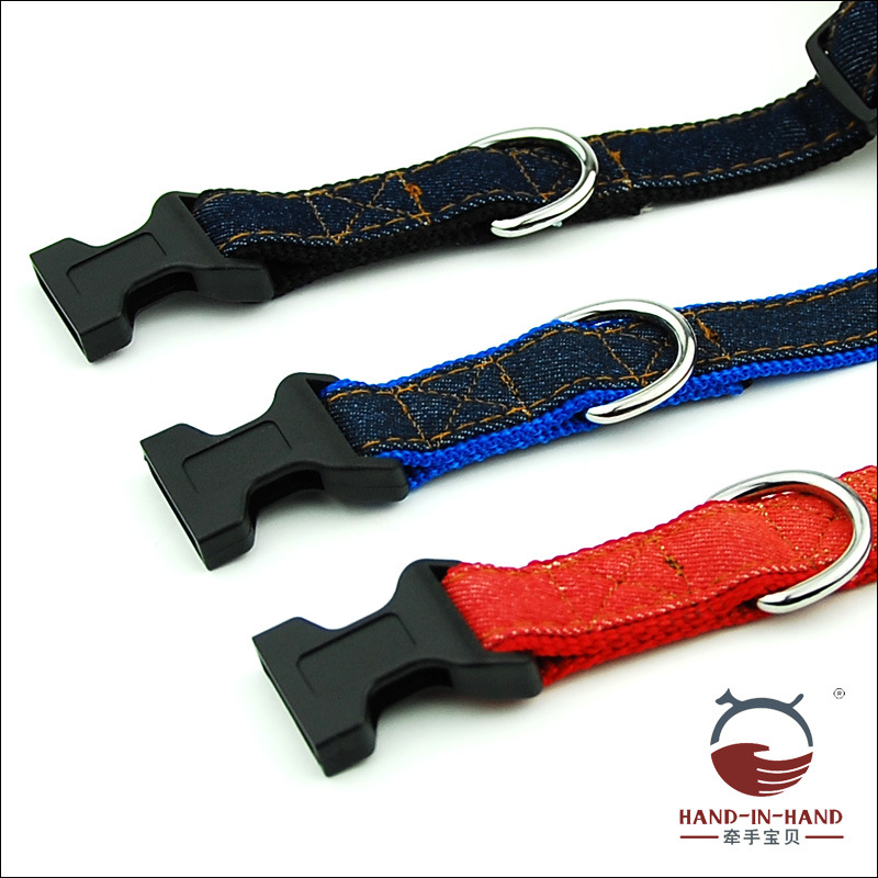 Hand-in-hand Pet Supplies Pet Collar Large Dog Collar Collar Collar Dog Supplies Webbing Cowboy Neck Band