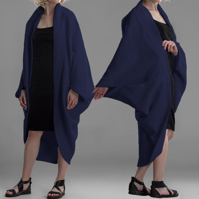 Celmia 2020 Autumn Winter Fashion Women  Sleeve Loose Knitting Cardigan Sweater Female Jackets Pull Femme Plus Size Coat