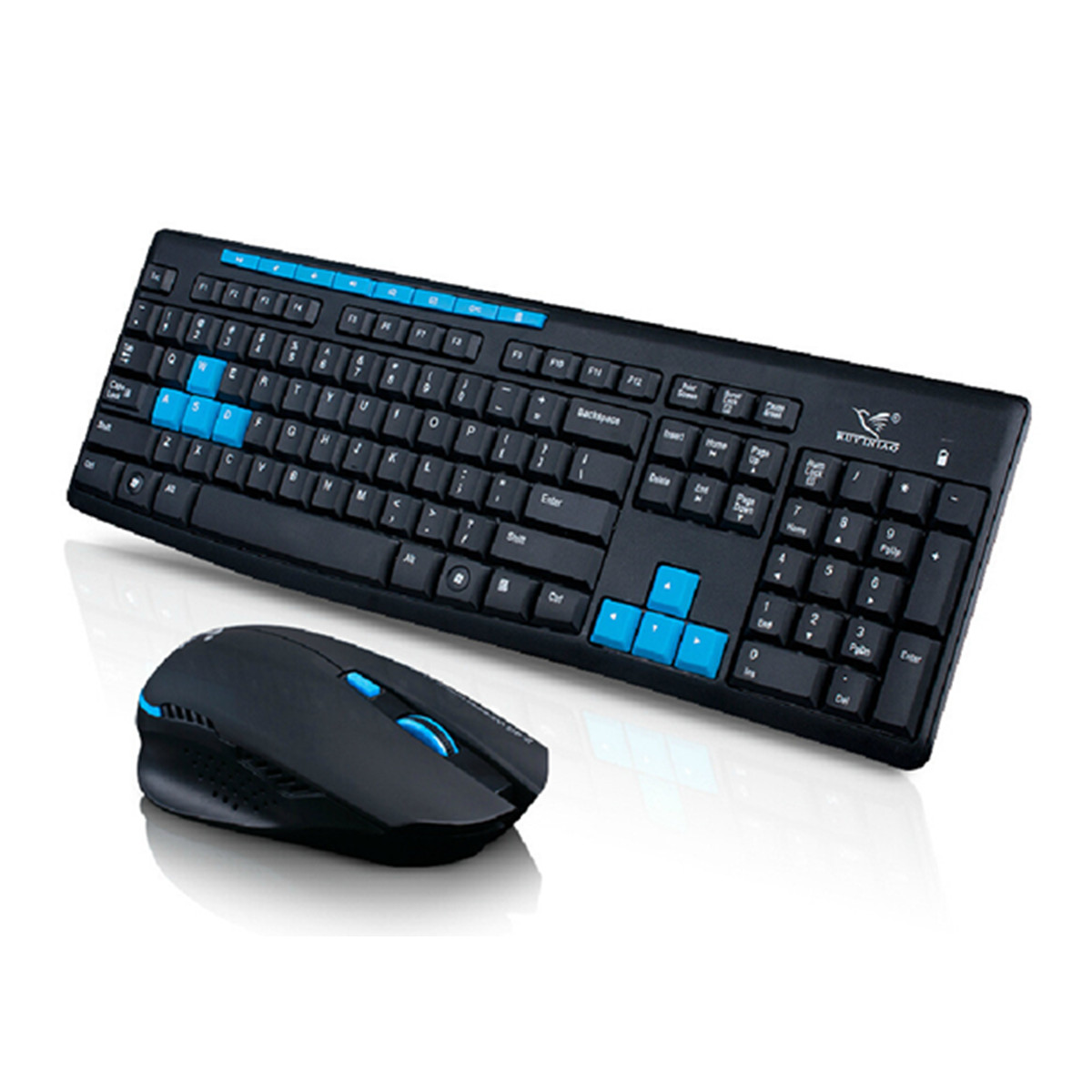2.4Ghz Wireless Backlit Silent Keyboard And Mouse Combo For Game Home Office Laptop Desktop Ergonomic Waterproof Keyboard