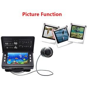 Image 5 - Fisch Finder Unterwasser Angeln Kamera 3,5 Inch Bildschirm 15M Kabel 8PCS Infrarot Lampe Video Kamera Aufnehmen Für Angeln