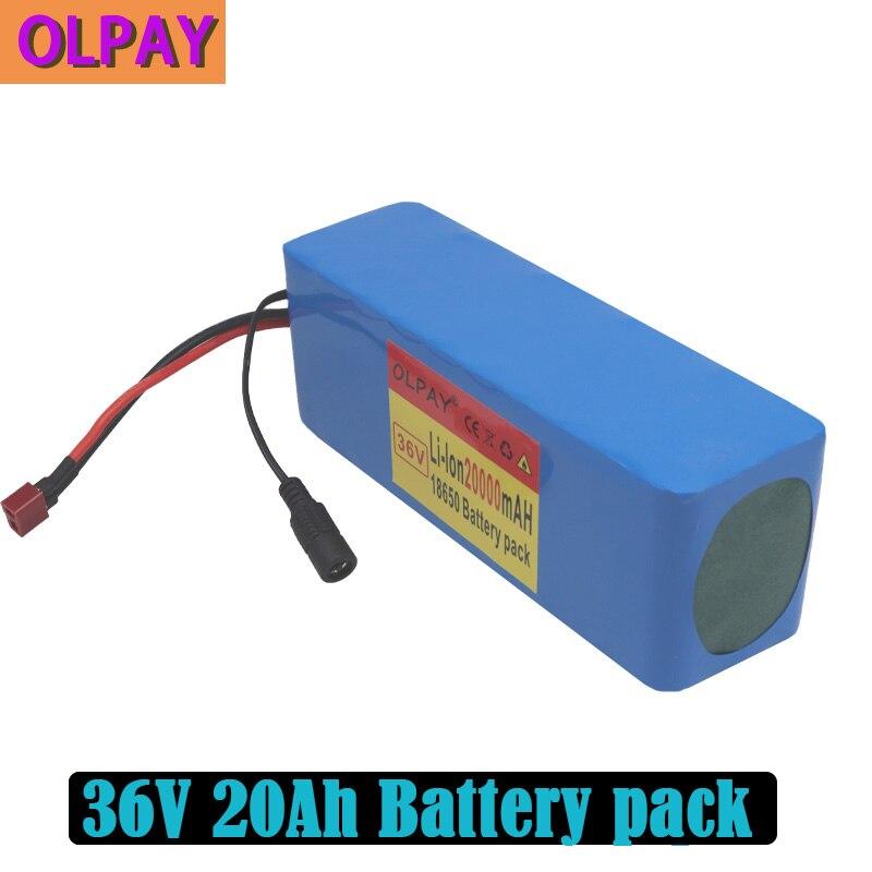 Литиевый аккумулятор 10S3P 36 в 20 Ач 500 Вт высокой мощности 42 в 18650, 20000 мАч, для электрического велосипеда, скутера, BMS Комплекты батарей      АлиЭкспресс