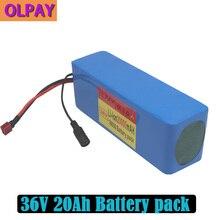 Литиевый аккумулятор 10S3P 36 в 20 Ач 500 Вт высокой мощности 42 в 18650, 20000 мАч, для электрического велосипеда, скутера, BMS