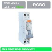EKL4-32 RCBO 6A, 10A, 16A, 20A, 25A, 32A 1P+ N электронный AC Тип 6KA 18 мм