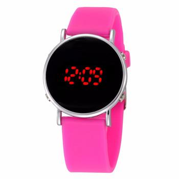 Dzieci dziewczyny zegarki 2020 dzieci zegarki moda Led cyfrowe zegarki elektroniczne dzieci sport zegarki silikonowe zegarki zegar tanie i dobre opinie WoMaGe 3Bar Moda casual Cyfrowy Z tworzywa sztucznego Klamra 23cm Nie pakiet 38mm 15231 Rectangle 20mm Wyświetlacz LED