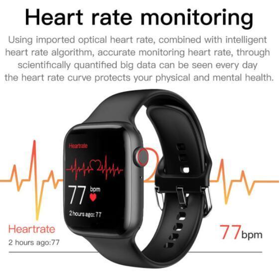 2021 Newest IWO 13 T500 Plus Smart Watch Men Women Fitness Tracker Bluetooth Call Sport Smartwatch PK IWO 12 W46 W26 HW22 AK76 6