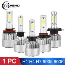 1 шт. H4 светодиодный Автомобильный свет H7 H11 H1 H3 H8 H9 HB4 9006 HB3 9005 H10 светодиодный фар супер яркий светодиодный 6000K 4000LM 36W Canbus лампада