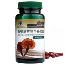 Reishi Mushroom Ganoderma Lucidum Spore Powder Extract Capsules Supplement for Enhance Immunity Anti-tumor Anti-cancer