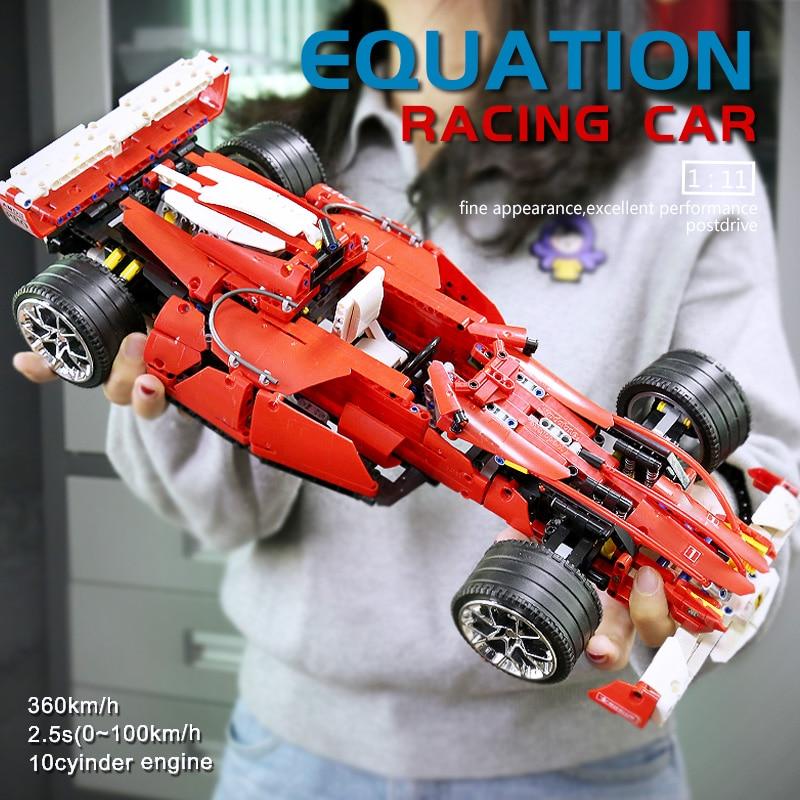 Yeshin 0011  The 8386 F1 Racer 1:10 Speed Car Model Toys