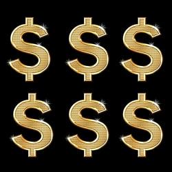 1.00 USD różne pieniądze