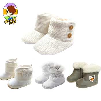 Risunnybaby Baby Shoes Newborn Winter First Walkers Cotton Shoes Infant Toddler Soft Sole Anti-Slip Baby Shoes цена 2017