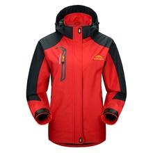 Hooded-Coat Detachable Snow-Jackets Ski-Suit Cycling Outdoor Sports Winter Windproof Waterproof