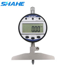 0-100 mm 0.01 mm digital depth indicator depth indicator gauge  5318-100 SHAHE
