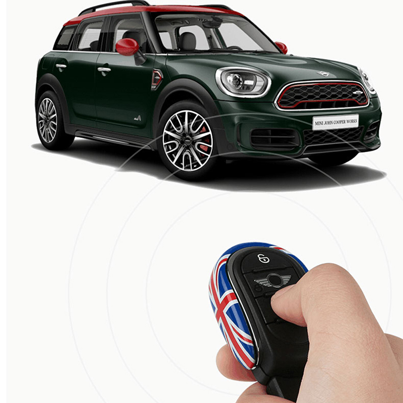 Image 5 - Car Styling Key Case Cover Chain Union Jack Decoration For BMW Mini Cooper S JCW One D F54 F55 F56 F57 F60 Car AccessoriesKey Case for Car   -