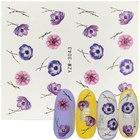 1 Sheet Floral Slide...