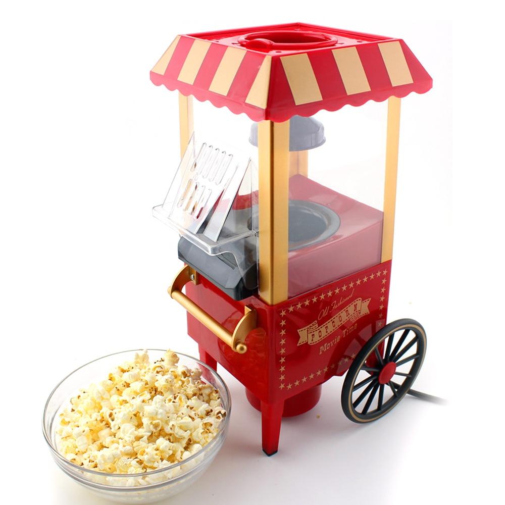 Mini Corn Popper Household Healthy Hot Air Oil-Free Popcorn Maker Machine Corn Popper For Home Kitchen