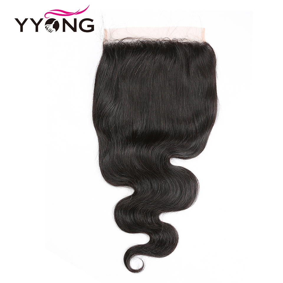 Yyong Hair 8x8 Lace Closure   Body Wave Closure 14-24 Inch Free Part 100%  Swiss Lace Closure 2