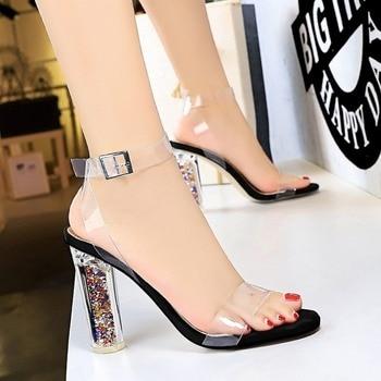 Womens shoes Clear heels platform sandals women shoes New Fashion women sandals High quality platform sandals High heels Shoes
