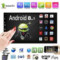 2 din android 8.1 rádio do carro reprodutor de vídeo multimídia universal gps estéreo mapa para volkswagen nissan hyundai kia toyota CR-V