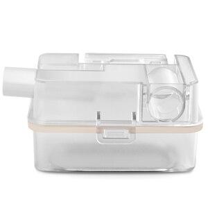 Image 3 - MOYEAH נסיעות מיני BPAP נשימה מכונה נייד אוטומטי BIPAP הנשמה ציוד רפואי עם מסכת צינור אנטי לנחור דום נשימה בשינה