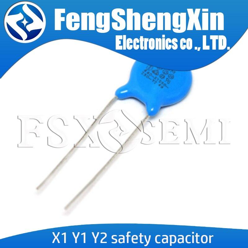 20 шт., безопасный конденсатор X1 Y1 Y2 400VAC 250VAC 103M 471 102 222M 472M 331 332 101 221 152