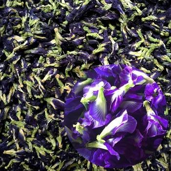 50g/Bag Thailand Blue Butterfly Pea Tea 100% Original Detox Tea Pure Natural Dried Pea Flower Tea Simulation Kitchen Toy 1