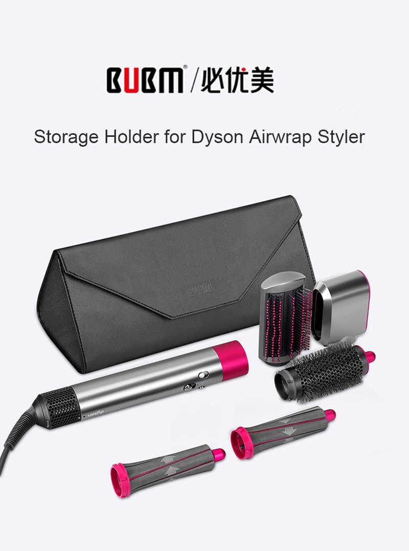 BUBM wodoodporna torba do przechowywania podróżna do Airwrap kompletny zestaw do stylizacji włosów Styler, przenośne magnetyczne torby ochronne z klapką