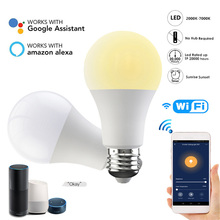 2000K% 2F7000K Smart Wifi LED Light Bulb Smart Home App Control For Amazon Alexa% 2FGoogle Home Work With Google Assistant Smart Lamp