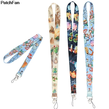 20pcs/lot A3327 Patchfan Cartoon Little Prince Lanyard Badge ID Lanyards Mobile Phone Rope Key Lanyard Neck Straps Accessories