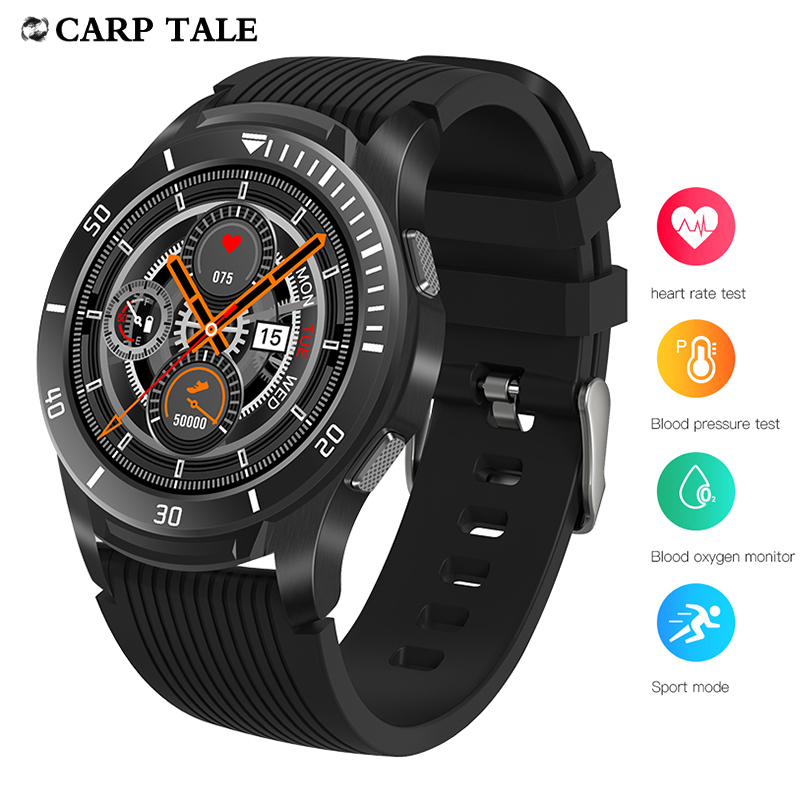 smart watch Android men fashion Bluetooth heart rate blood pressure for iphone bracelet watch Business cool watches
