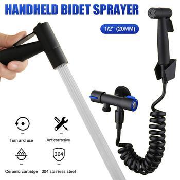 Stainless Steel Handheld Bidet Bathroom Toilet Sprayer Kit Cloth Diaper Sprayer Bidet For Personal Hygiene G1 2 Douchekop Buy At The Price Of 9 65 In Aliexpress Com Imall Com